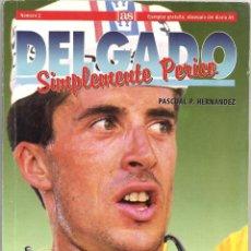 Coleccionismo deportivo: DELGADO SIMPLEMENTE PERICO - AS. Lote 62004912