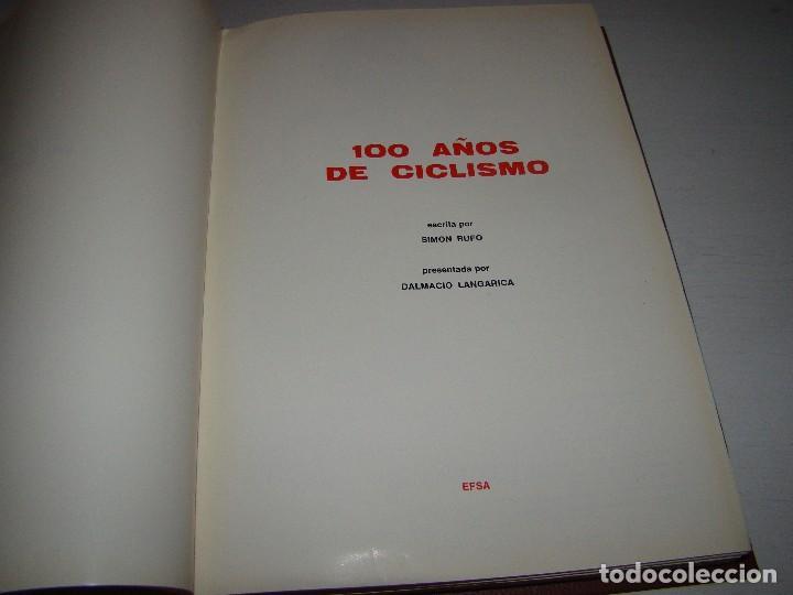 Coleccionismo deportivo: 100 AÑOS DE CICLISMO - EFSA - Foto 2 - 205132647