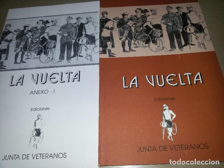 LA VUELTA-EDICIONES JUNTA DE VETERANOS-1995-ANEXO -150 EJEMPLARES (Coleccionismo Deportivo - Libros de Ciclismo)