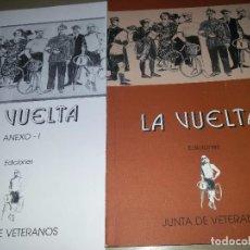 Coleccionismo deportivo: LA VUELTA-EDICIONES JUNTA DE VETERANOS-1995-ANEXO -150 EJEMPLARES. Lote 70187637