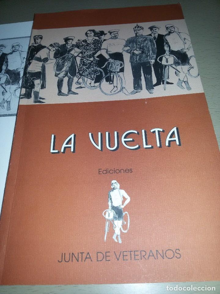 Coleccionismo deportivo: LA VUELTA-EDICIONES JUNTA DE VETERANOS-1995-ANEXO -150 EJEMPLARES - Foto 2 - 70187637
