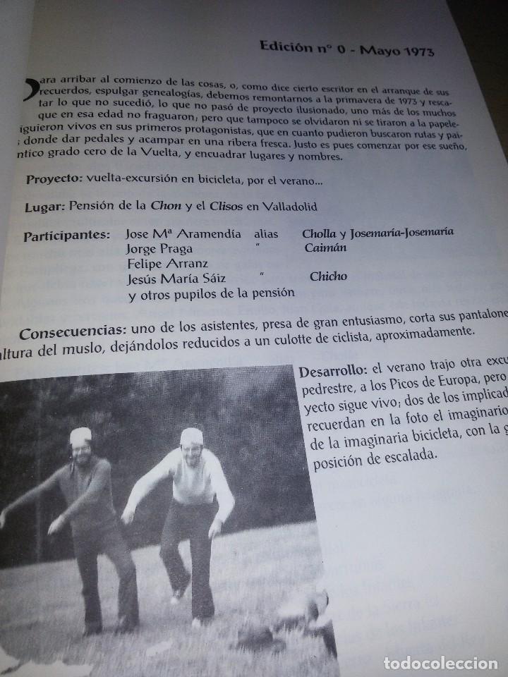 Coleccionismo deportivo: LA VUELTA-EDICIONES JUNTA DE VETERANOS-1995-ANEXO -150 EJEMPLARES - Foto 4 - 70187637