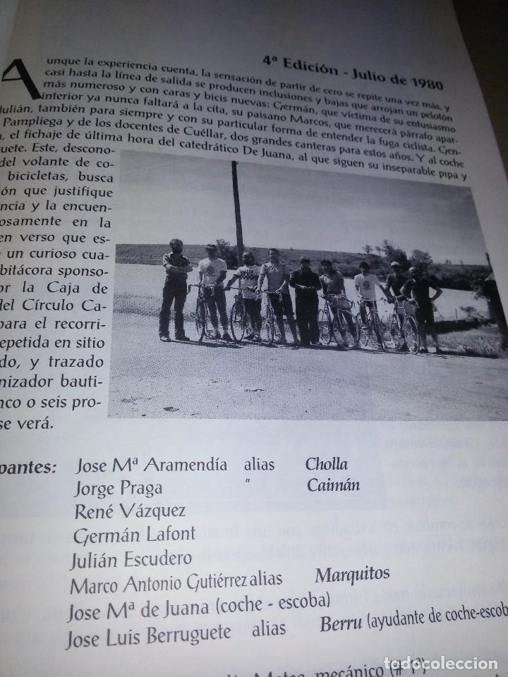 Coleccionismo deportivo: LA VUELTA-EDICIONES JUNTA DE VETERANOS-1995-ANEXO -150 EJEMPLARES - Foto 6 - 70187637