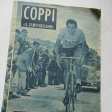 Coleccionismo deportivo - REVISTA, COPPI IL CAMPIONISSIMO Nº. 61-COLECCIÓN IDOLOS DEL DEPORTE-28 DE ABRIL 1959-MIDE 16.X12 CM. - 71608267