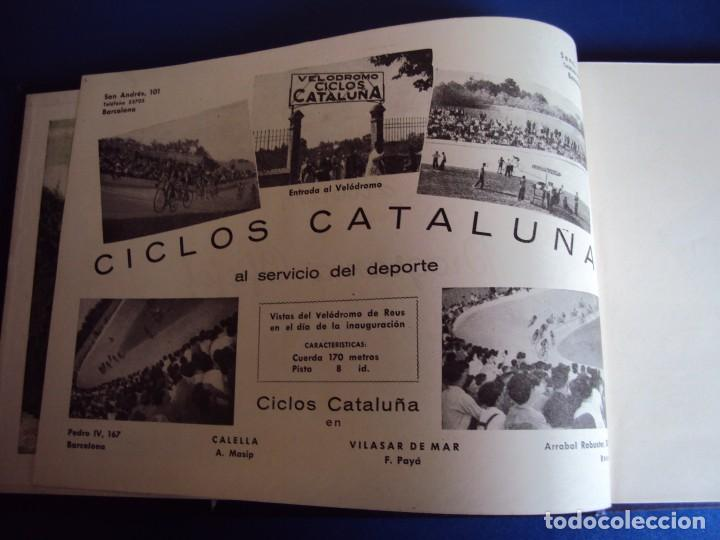 Coleccionismo deportivo: (CAT-170201)Album Programa Oficial de la vuelta Ciclista a Cataluña, V Gran premio Pirelli, año 1945 - Foto 3 - 74944079