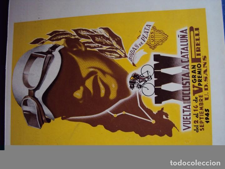 Coleccionismo deportivo: (CAT-170201)Album Programa Oficial de la vuelta Ciclista a Cataluña, V Gran premio Pirelli, año 1945 - Foto 4 - 74944079