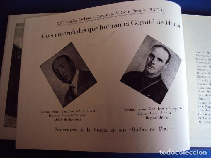 Coleccionismo deportivo: (CAT-170201)Album Programa Oficial de la vuelta Ciclista a Cataluña, V Gran premio Pirelli, año 1945 - Foto 5 - 74944079