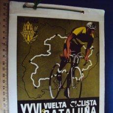 Coleccionismo deportivo: (CAT-170202)PROGRAMA XXVI VUELTA CICLISTA A CATALUÑA.VI GRAN PREMIO PIRELLI 1946. Lote 74944283