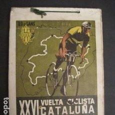 Coleccionismo deportivo: XXVI VUELTA CICLISTA A CATALUÑA - SEPTIEMBRE DE 1946 -VI GRAN PREMIO PIRELLI -VER FOTOS-(V- 9521). Lote 78641905