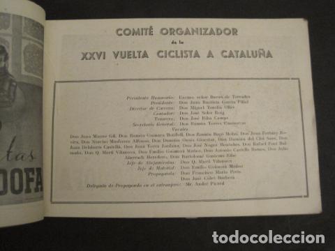 Coleccionismo deportivo: XXVI VUELTA CICLISTA A CATALUÑA - SEPTIEMBRE DE 1946 -VI GRAN PREMIO PIRELLI -VER FOTOS-(V- 9521) - Foto 3 - 78641905