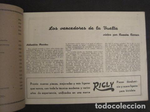 Coleccionismo deportivo: XXVI VUELTA CICLISTA A CATALUÑA - SEPTIEMBRE DE 1946 -VI GRAN PREMIO PIRELLI -VER FOTOS-(V- 9521) - Foto 5 - 78641905