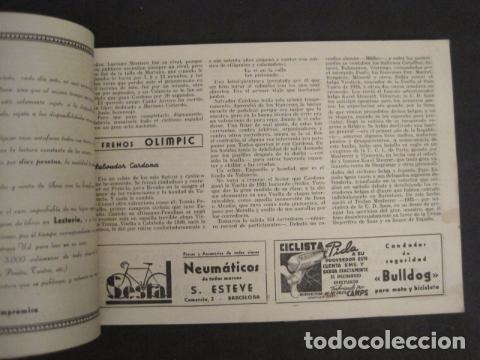 Coleccionismo deportivo: XXVI VUELTA CICLISTA A CATALUÑA - SEPTIEMBRE DE 1946 -VI GRAN PREMIO PIRELLI -VER FOTOS-(V- 9521) - Foto 7 - 78641905