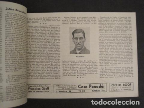 Coleccionismo deportivo: XXVI VUELTA CICLISTA A CATALUÑA - SEPTIEMBRE DE 1946 -VI GRAN PREMIO PIRELLI -VER FOTOS-(V- 9521) - Foto 8 - 78641905