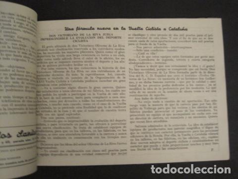 Coleccionismo deportivo: XXVI VUELTA CICLISTA A CATALUÑA - SEPTIEMBRE DE 1946 -VI GRAN PREMIO PIRELLI -VER FOTOS-(V- 9521) - Foto 10 - 78641905