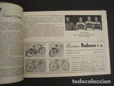 Coleccionismo deportivo: XXVI VUELTA CICLISTA A CATALUÑA - SEPTIEMBRE DE 1946 -VI GRAN PREMIO PIRELLI -VER FOTOS-(V- 9521) - Foto 11 - 78641905