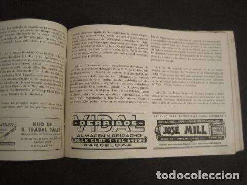 Coleccionismo deportivo: XXVI VUELTA CICLISTA A CATALUÑA - SEPTIEMBRE DE 1946 -VI GRAN PREMIO PIRELLI -VER FOTOS-(V- 9521) - Foto 14 - 78641905