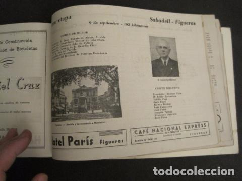 Coleccionismo deportivo: XXVI VUELTA CICLISTA A CATALUÑA - SEPTIEMBRE DE 1946 -VI GRAN PREMIO PIRELLI -VER FOTOS-(V- 9521) - Foto 17 - 78641905