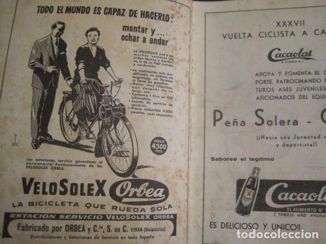 Coleccionismo deportivo: XXXVII VUELTA CICLISTA CATALUÑA - AÑO 1957 -VER FOTOS -(V-10.408) - Foto 2 - 82338036