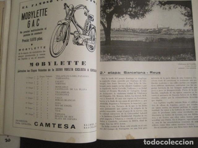 Coleccionismo deportivo: XXXVII VUELTA CICLISTA CATALUÑA - AÑO 1957 -VER FOTOS -(V-10.408) - Foto 7 - 82338036