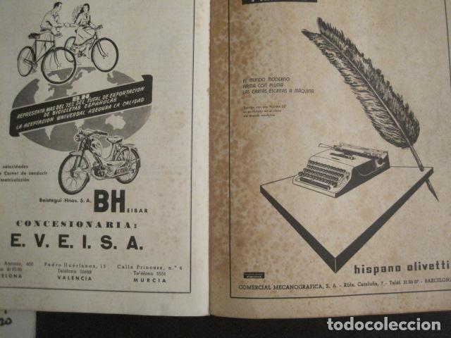 Coleccionismo deportivo: XXXVII VUELTA CICLISTA CATALUÑA - AÑO 1957 -VER FOTOS -(V-10.408) - Foto 12 - 82338036
