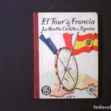 Coleccionismo deportivo: TOUR Y VUELTA A ESPAÑA 1957 ED. DINAMICO. Lote 82342428