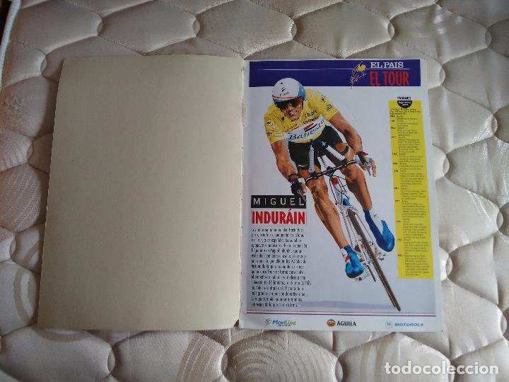 Coleccionismo deportivo: Libro con muchas fotos - el tour de Francia (publicado por el País, años 90) - Foto 2 - 204639473