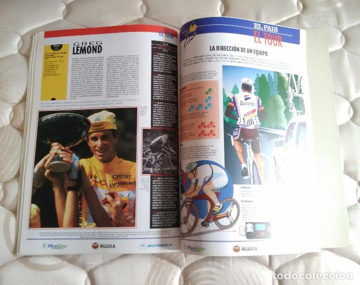 Coleccionismo deportivo: Libro con muchas fotos - el tour de Francia (publicado por el País, años 90) - Foto 3 - 204639473