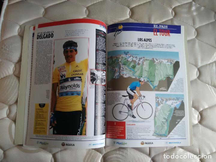 Coleccionismo deportivo: Libro con muchas fotos - el tour de Francia (publicado por el País, años 90) - Foto 4 - 204639473