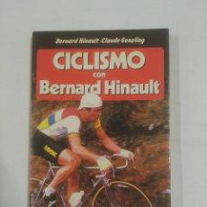 Coleccionismo deportivo: CICLISMO CON BERNAD HINAULT. CLAUDE GENZLING. MARTINEZ ROCA. TDKLT. Lote 93666830