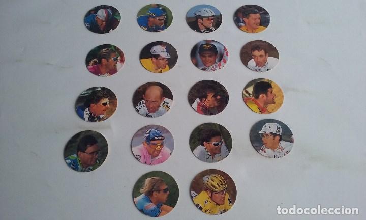 Coleccionismo deportivo: CICLISMO/CICLISTAZOS DEL PAIS/PANTANI/INDURAIN/ROMINGER/ESCARTIN/BERZIN.......... - Foto 2 - 94618451