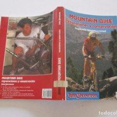 Coleccionismo deportivo: JOHN STEVENSON. MOUNTAIN BIKE: REPARACIONES Y CONSERVACIÓN. RMT82284. . Lote 95196831