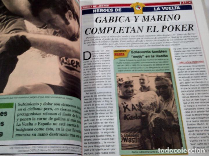 Coleccionismo deportivo: MARCA. CICLISMO DEL NORTE. FABRICA DE LIDERES. GRAN COLECCIONABLE 1994. TDK66 - Foto 3 - 100303123