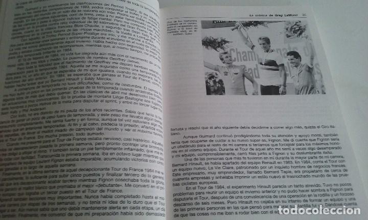 Coleccionismo deportivo: LIBRO CICLISMO COMPLETO/GREG LEMOND Y KENT GORDIS. - Foto 2 - 101542055