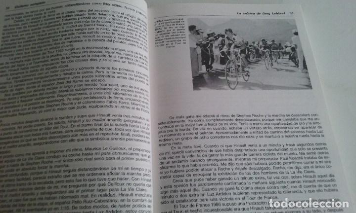 Coleccionismo deportivo: LIBRO CICLISMO COMPLETO/GREG LEMOND Y KENT GORDIS. - Foto 3 - 101542055
