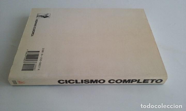 Coleccionismo deportivo: LIBRO CICLISMO COMPLETO/GREG LEMOND Y KENT GORDIS. - Foto 4 - 101542055