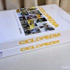Coleccionismo deportivo: 2 LIBROS CICLOPEDIA DICCIONARIO DEL CICLISMO ESPAÑOL MODERNO 1990 2005. Lote 102497491
