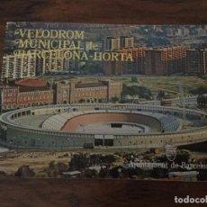 Coleccionismo deportivo: CATALOGO VELODROMO HORTA . CICLISMO PISTA. Lote 103405399