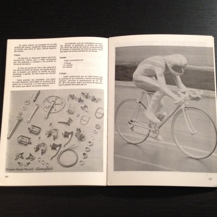 Coleccionismo deportivo: NUEVO CICLISMO AGONISTICO - JUAN CARLOS PEREZ - LIBRO ORIGINAL 1981 - BICI BICILETA CISCLISTA TOUR - Foto 5 - 104555071