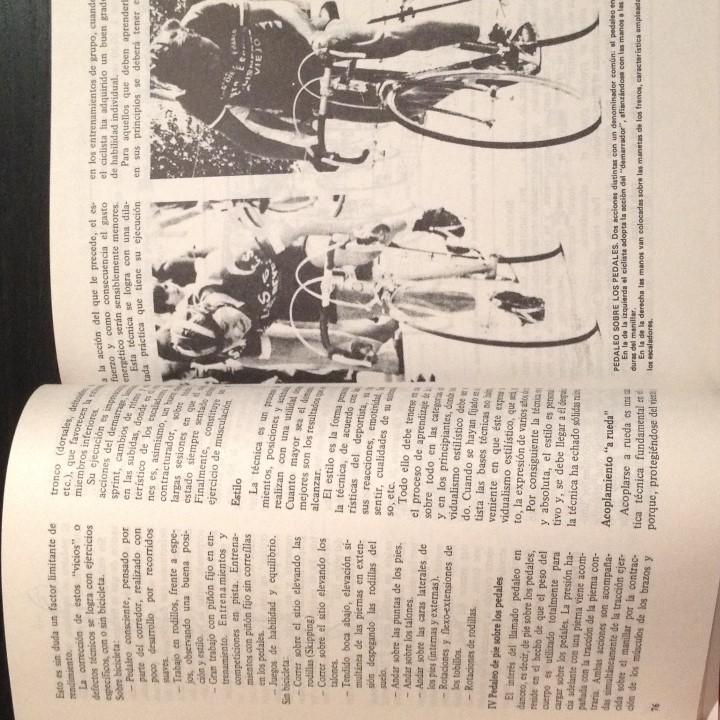 Coleccionismo deportivo: CICLISMO EN LA BASE - JUAN CARLOS PEREZ - LIBRO ORIGINAL 1982 - BICI BICILETA CISCLISTA TOUR - Foto 3 - 104555275