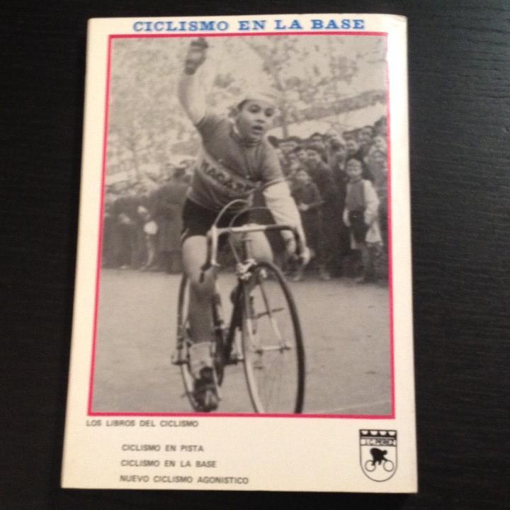Coleccionismo deportivo: CICLISMO EN LA BASE - JUAN CARLOS PEREZ - LIBRO ORIGINAL 1982 - BICI BICILETA CISCLISTA TOUR - Foto 5 - 104555275