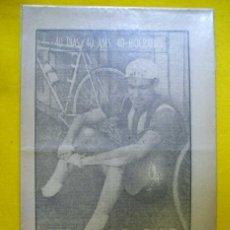 Coleccionismo deportivo: BERNARDO RUIZ. EL PIPA. CICLISMO. 1963. Lote 108237475