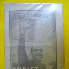 Coleccionismo deportivo: POBLET. LA CENTELLA DE MONCADA. CICLISMO. 1963. Lote 108237571