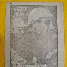 Coleccionismo deportivo: BERRENDERO - EL NEGRO DE LOS OJOS AZULES - CICLISMO. 1963. Lote 108238019