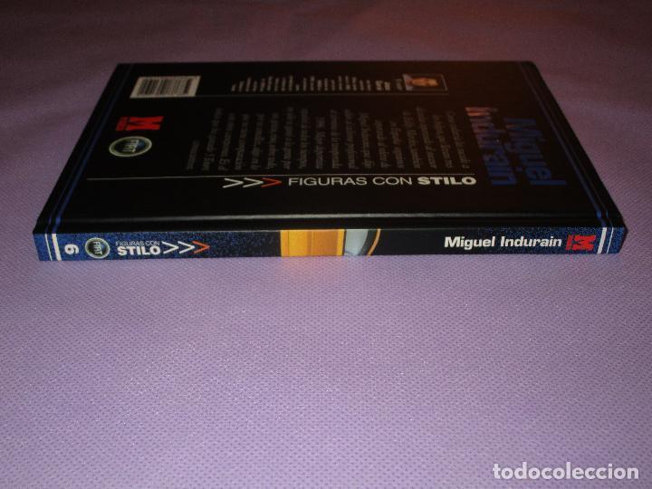 Coleccionismo deportivo: FIGURAS CON STILO ( MIGUEL INDURAIN - EL SEÑOR DEL TOUR ) - MARCA - 6 - JOSU GARAI - FIAT - Foto 5 - 182571470