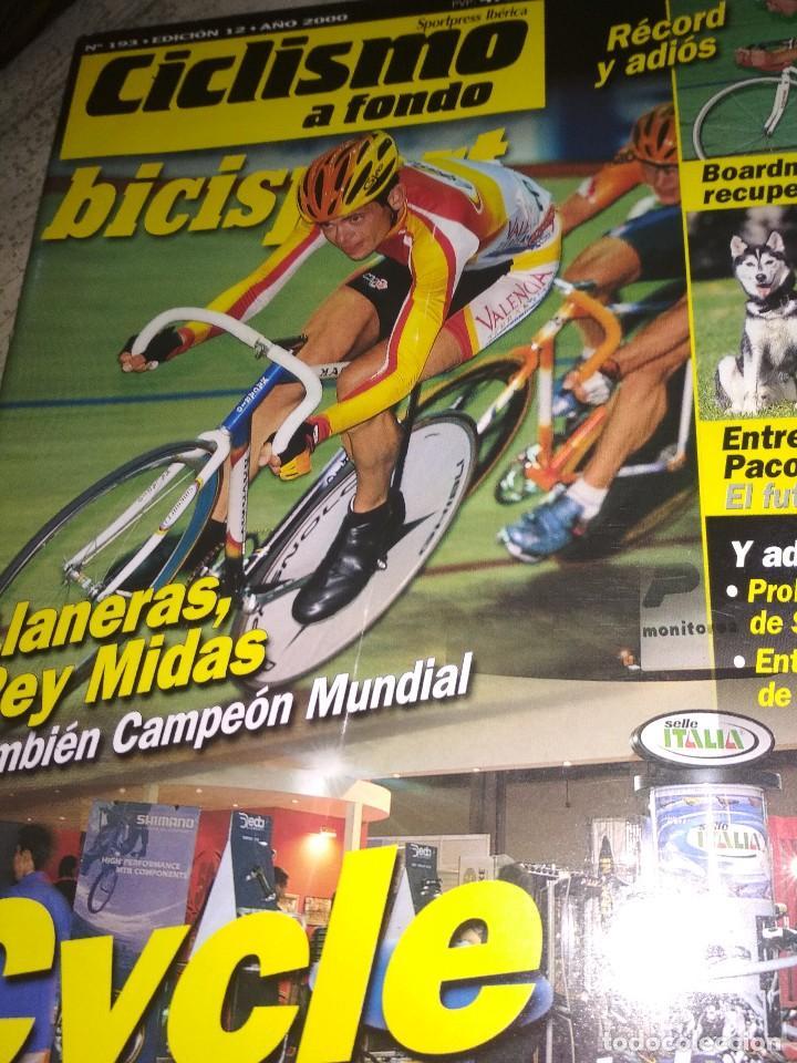 CICLISMO A FONDO (Coleccionismo Deportivo - Libros de Ciclismo)