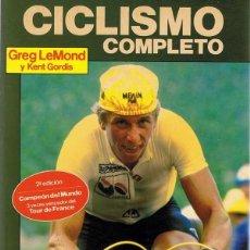 Coleccionismo deportivo: CICLISMO COMPLETO GREG LEMOND & KENT GORDIS . Lote 112894635