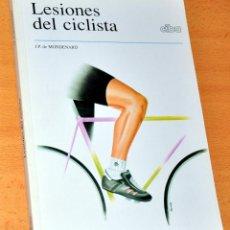 Coleccionismo deportivo: LESIONES DEL CICLISTA - DE J. P. DE MONDENARD - EDITA: CIBA-GEIGY - AÑO 1994. Lote 114078307