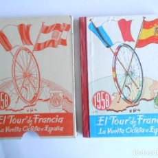 Coleccionismo deportivo: CICLISMO - LIBRO DEL TOUR DE FRANCIA Y LA VUELTA CICLISTA A ESPAÑA 1958 - NUEVO - CON LA FUNDA -. Lote 114832251