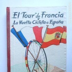 Coleccionismo deportivo: CICLISMO - LIBRO DEL TOUR DE FRANCIA Y LA VUELTA CICLISTA A ESPAÑA - AÑO 1957 - NUEVO - VER FOTOS. Lote 114832887