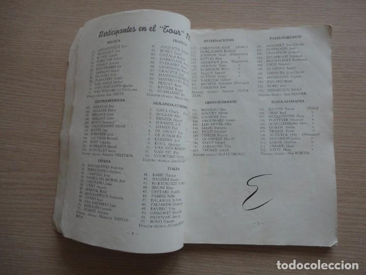 Coleccionismo deportivo: LIBRO YO VIVI EL TOUR DE BAHAMONTES 112 PAGS RAMON TORRES CICLISMO - Foto 4 - 115516823